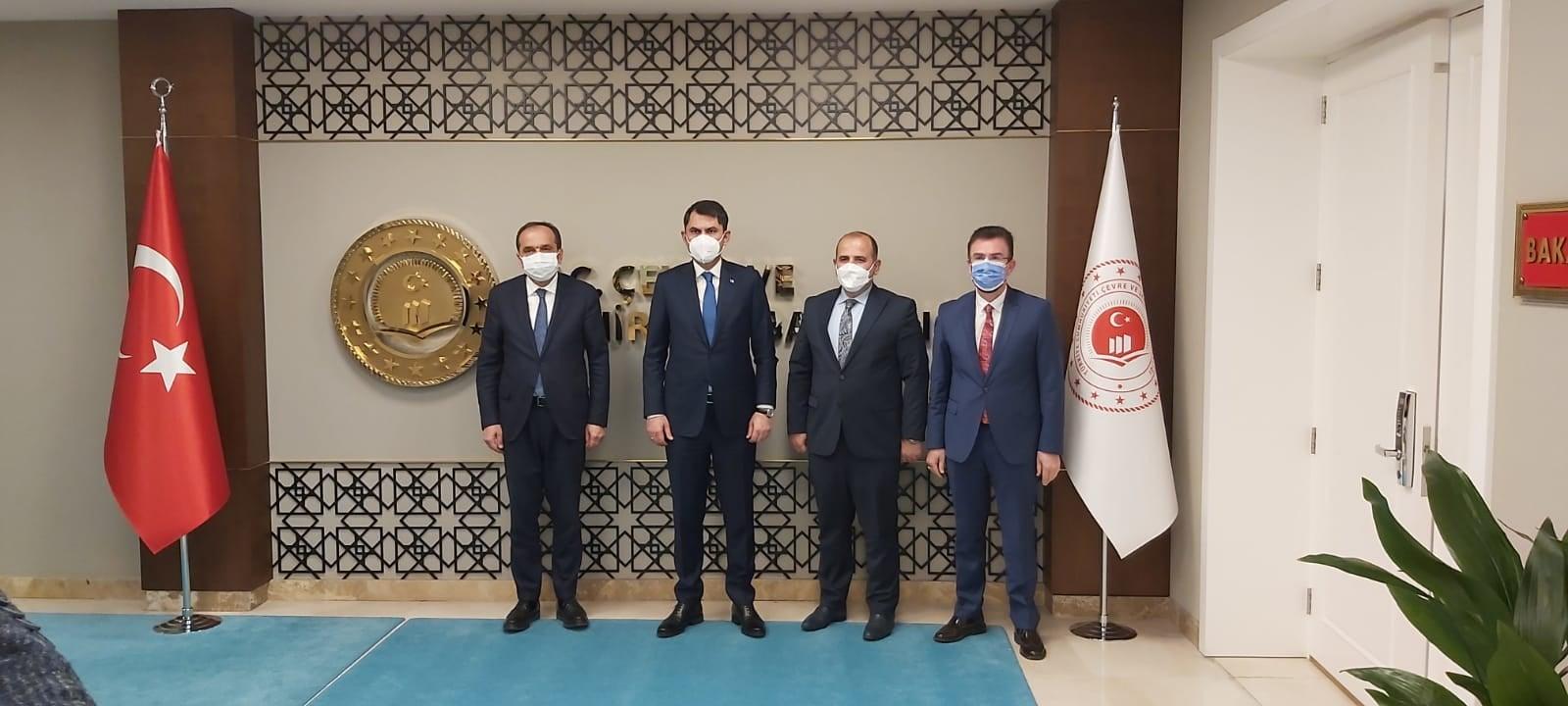 BAŞKAN GÜRSOY ANKARA'DAN ELİ DOLU DÖNDÜ!