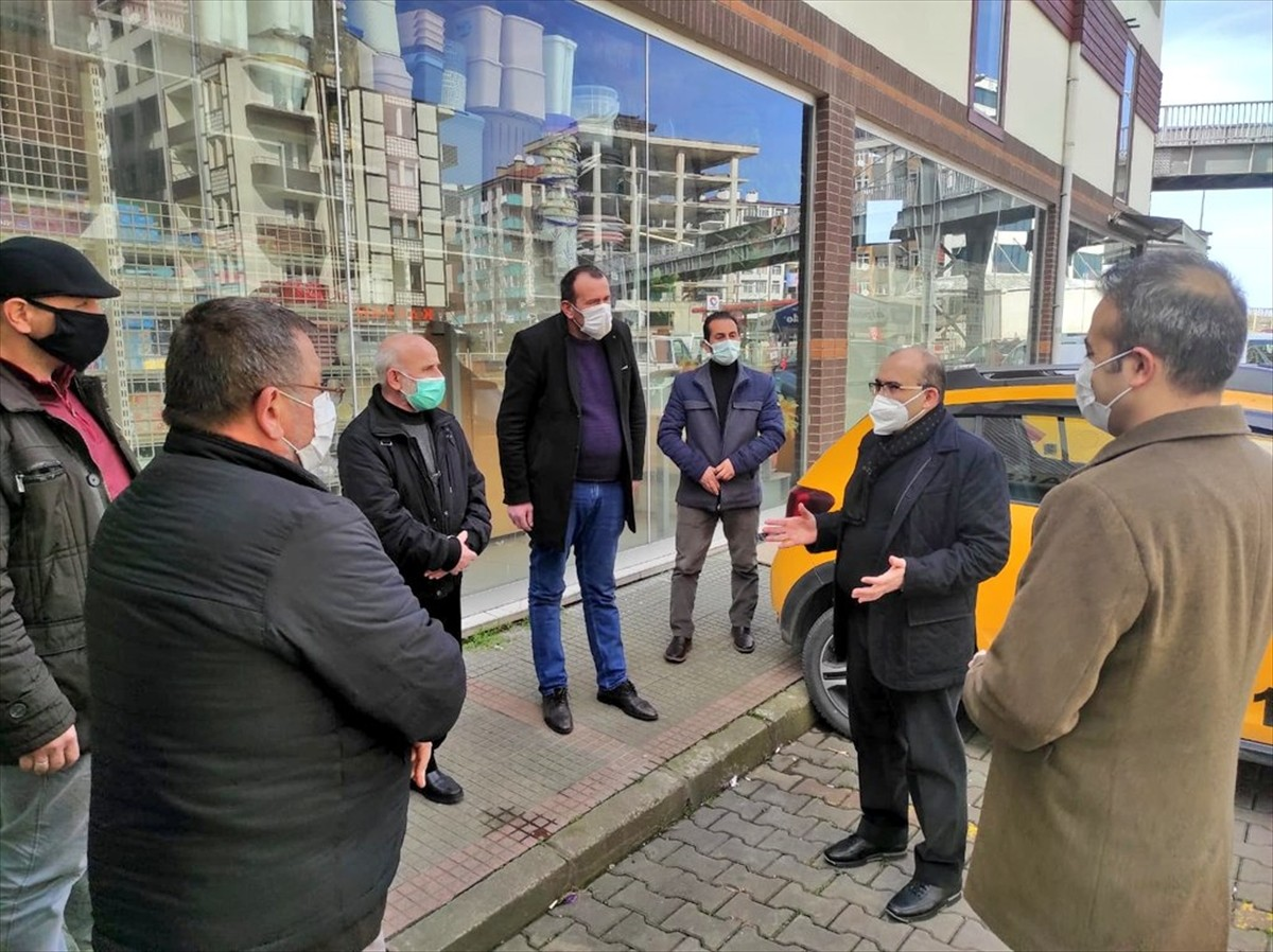 """""""Çok yüksek riskli"""" kategorisindeki Trabzon'da Kovid-19 denetimleri sürüyor"""