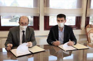 """KTÜ ve TİSAŞ arasında """"Üniversite-Sanayi İş Birliği Protokolü"""" imzalandı"""