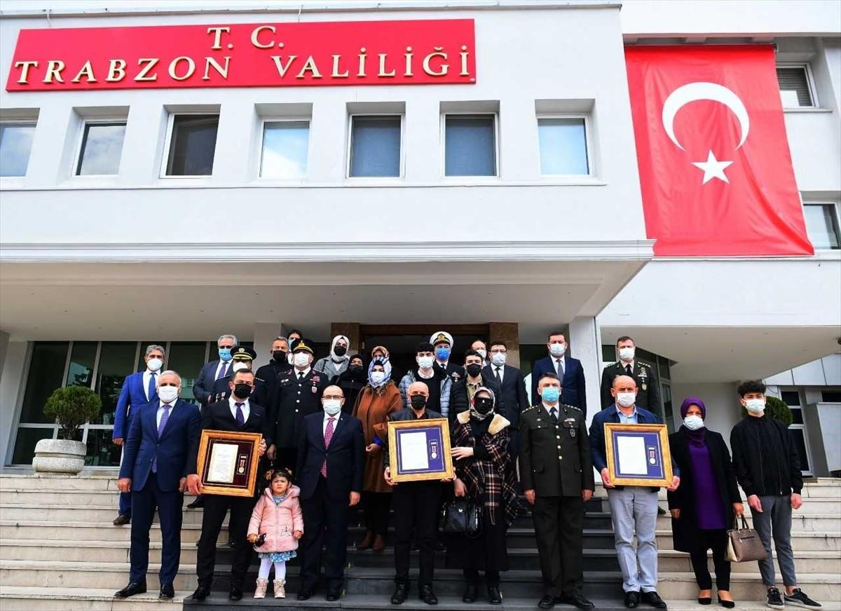 """Trabzon 'da """"Devlet Övünç Madalyası ve Beratı"""" töreni düzenlendi"""