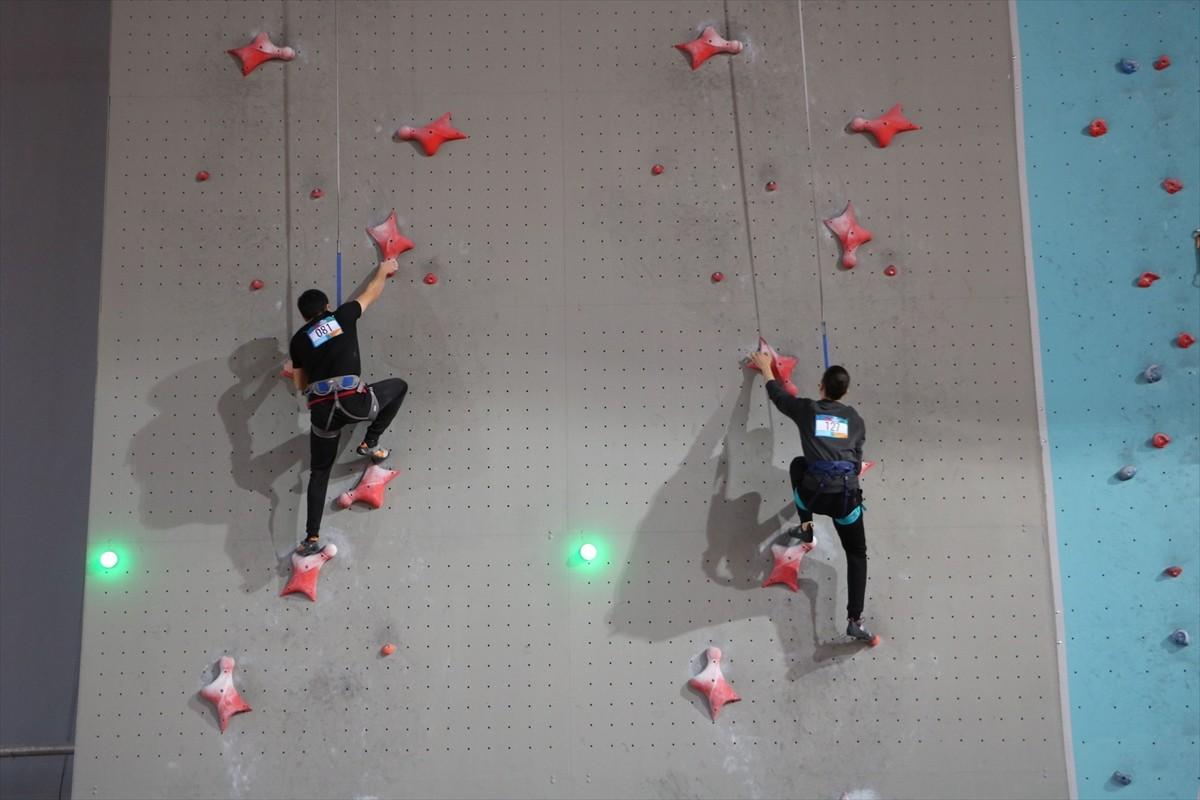 Spor Tırmanış Türkiye Şampiyonası Trabzon'da yapıldı