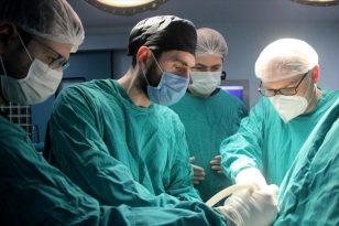 KTÜ'de kadın hastaya tendon nakli gerçekleştirildi