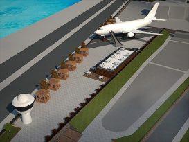 Trabzon'da pistten çıkan uçak, pide salonu olarak hizmet verecek