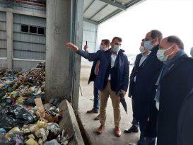 TBMM Çevre Komisyonu Başkanı Balta, Trabzon'daki katı atık entegre ve bertaraf tesisini ziyaret etti: