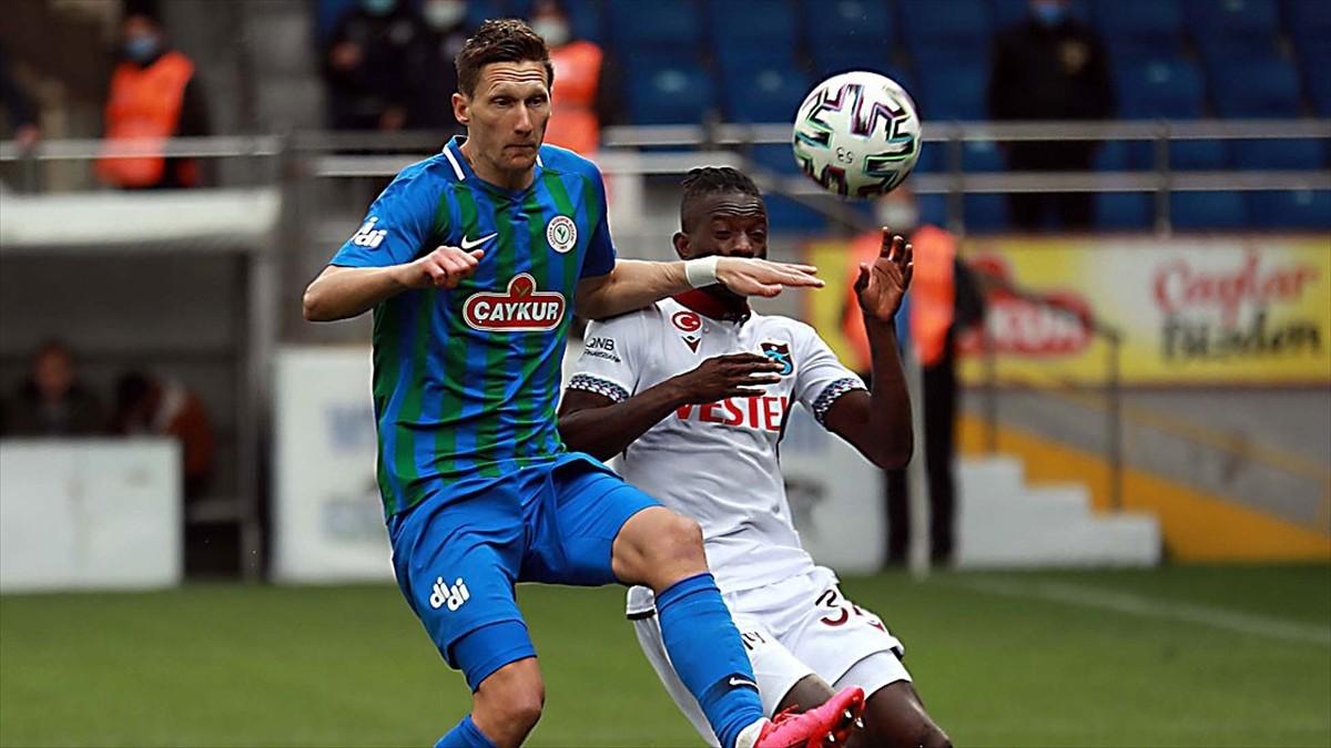 Trabzonspor düşüşe geçti