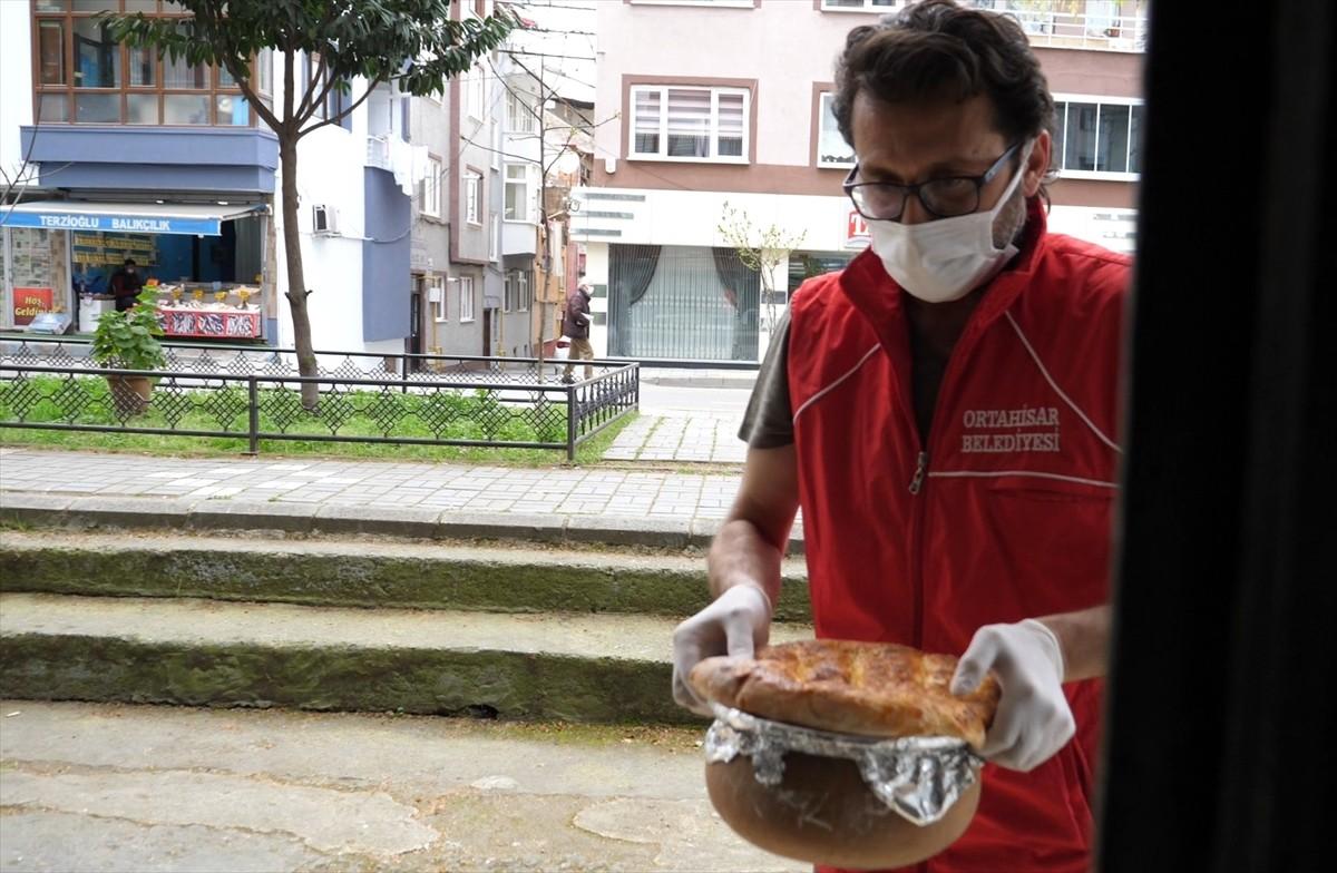 Ortahisar Belediyesinden ramazanda vatandaşlara gıda paketi desteği