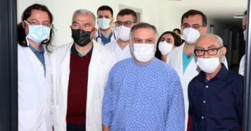 Lübnan asıllı kuzenlerin böbrek nakli Trabzon'da yapıldı