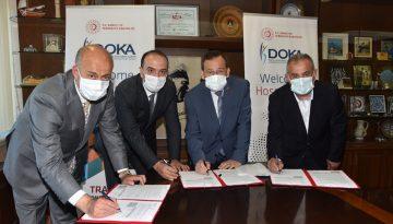 Trabzon'da DOKA'nın destekleyeceği projelerin protokolleri imzaladı