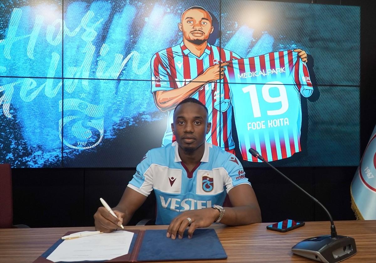 Trabzonspor, Koita ile 3 yıllık sözleşme imzaladı