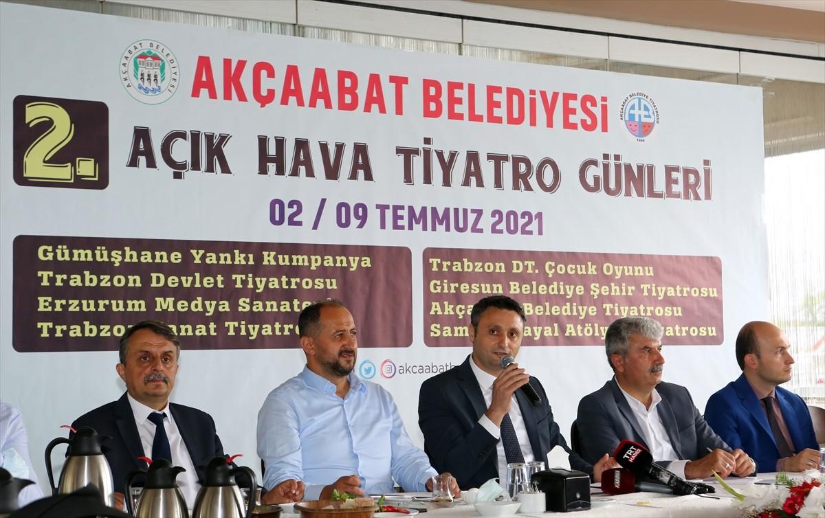 Trabzon'da açık havada tiyatro günleri 2 Temmuz'da başlayacak