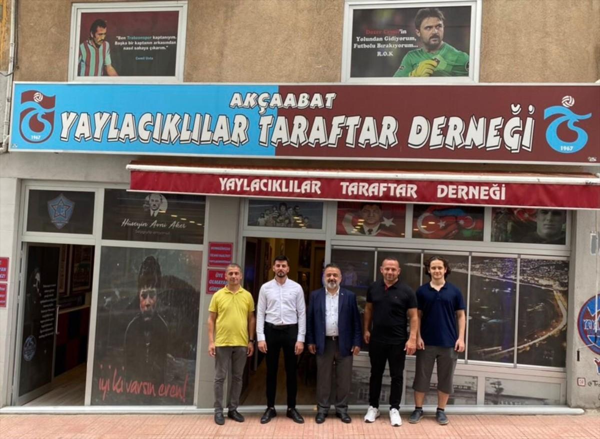 Türkiye'nin Hartum Büyükelçisi Neziroğlu'ndan, Trabzon Akçaabat Yaylacıklılar Taraftar Derneği'ne ziyaret