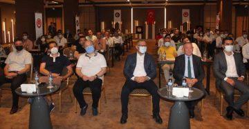 Öz Finans İş Sendikası Genel Başkanı Eroğlu, Trabzon Şubesi genel kurulunda konuştu:
