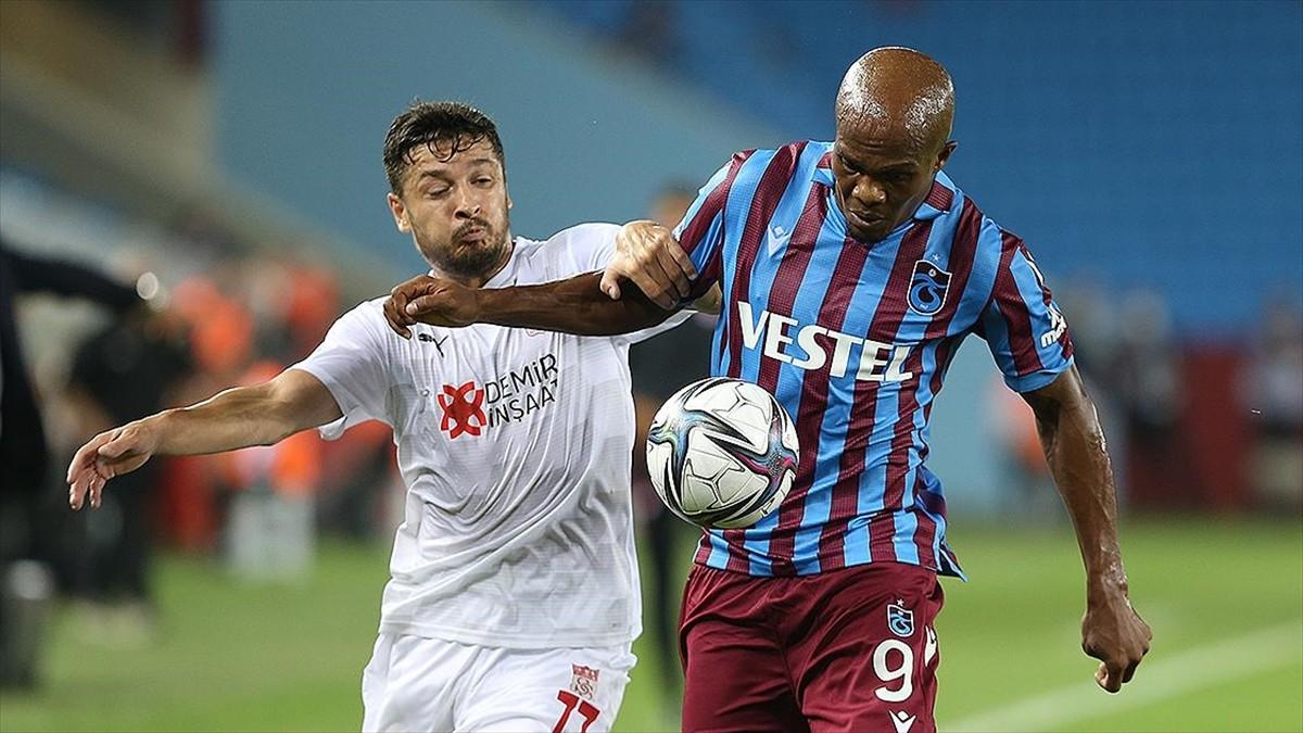 Trabzonspor, eski oyuncularıyla sonuca gitti