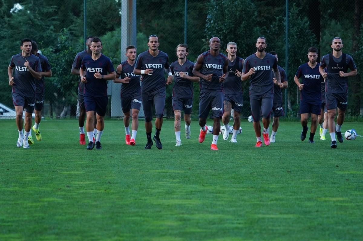 Trabzonspor, Galatasaray maçının hazırlıklarını sürdürüyor