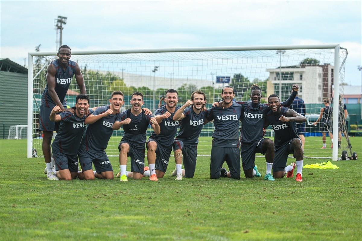 Trabzonspor, Galatasaray maçı hazırlıklarını sürdürdü