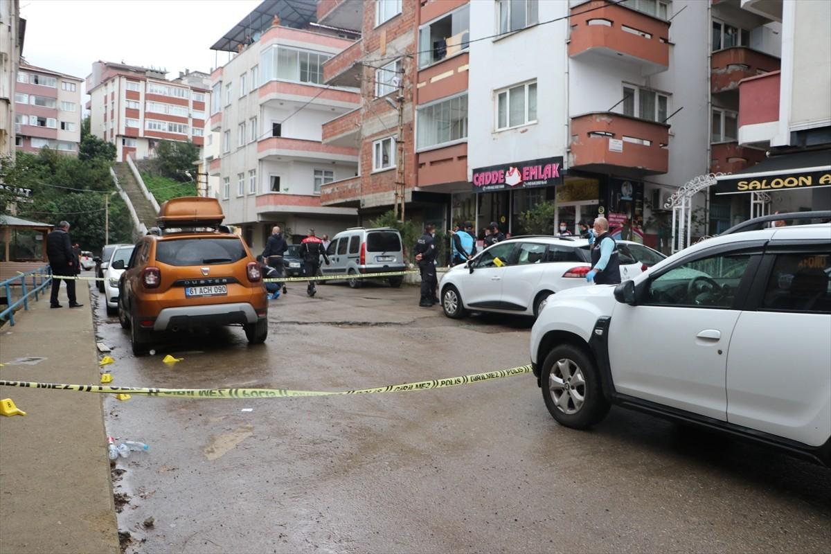 Trabzon'da silahlı kavgada bir kişi ağır yaralandı