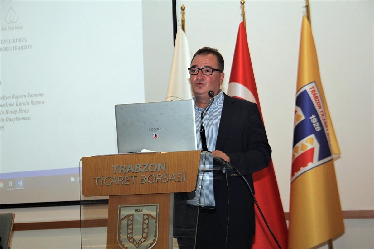 Ulusal Fındık Konseyi Başkanı Arslantürk, Genel Kurulda konuştu: