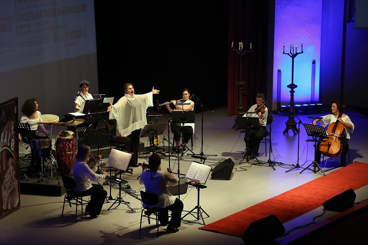 Trabzon'da Allegra Ensemble grubu konser verdi