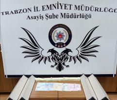 Trabzon'da kumar oynayan 3 kişiye, 4 bin 8 lira ceza