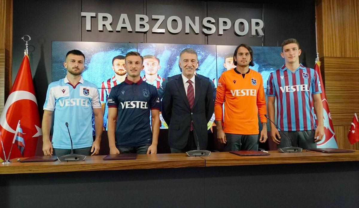 Trabzonspor 4 futbolcusu ile sözleşme yeniledi