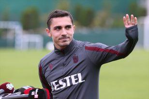 """Trabzonspor'un genç oyuncusu Abdülkadir Ömür: """"Liderliğin keyfini sürüyoruz"""""""