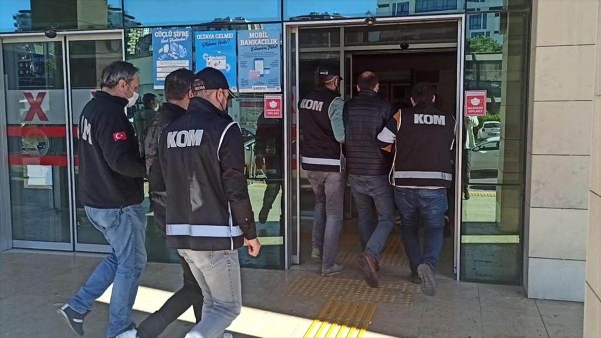 Trabzon merkezli dolandırıcılık operasyonunda 18 kişi gözaltına alındı