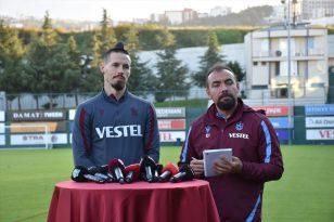 Trabzonspor'un tecrübeli oyuncusu Marek Hamsik, basın mensuplarına konuştu: